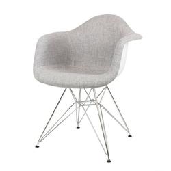 Nowoczesny fotel kr012f tszsz chrom