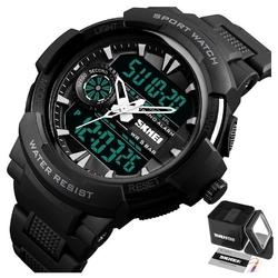Zegarek męski sportowy skmei 1320 datownik black
