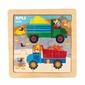 Puzzle drewniane apli kids - ciężarówka