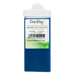 Depilflax wosk do depilacji twarzy rolka azulen 110g