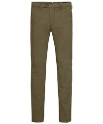 Męskie spodnie typu chino w kolorze army 3632