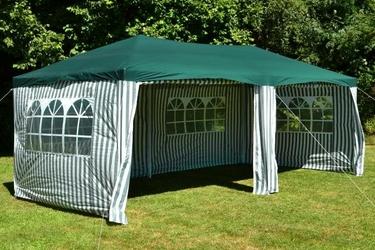 Pawilon namiot ogrodowy zielony 3x6m