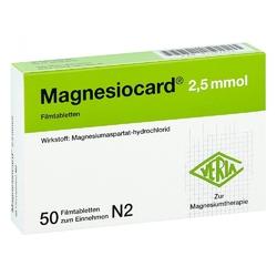 Magnesiocard 2,5 mmol filmtabl.