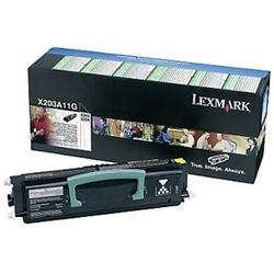 Toner oryginalny lexmark x203a11g x203a11g czarny - darmowa dostawa w 24h
