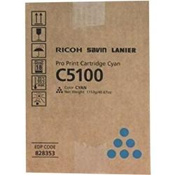 Toner Oryginalny Ricoh C5100 828228, 828405 Błękitny - DARMOWA DOSTAWA w 24h