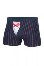 Cornette świąteczne 00744 funny bow tie bokserki męskie