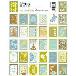 Samoprzylepne znaczki 16x21 cm64szt. - Pure - PURE