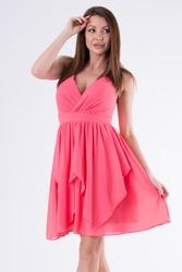 Evalola sukienka arbuzowy 58005-6