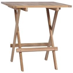Zestaw ogrodowy składany stół + 2 krzesła ruben brązowy