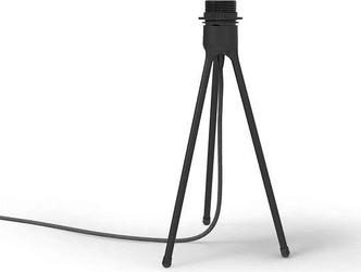 Podstawa stołowa do abażurów lamp tripod czarna