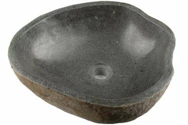Umywalka z andezytu, nablatowa z kamienia
