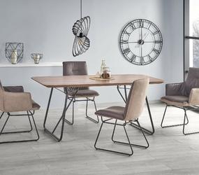 Stół do jadalni daston 180x90 cm orzechczarny