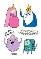 Adventure time mathematic - tatuaż