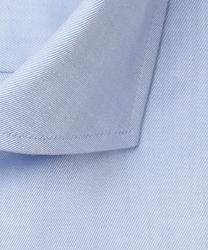 Niebieska koszula profuomo z wstawkami regular fit 42