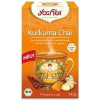 Herbata ajurwedyjska kurkuma chai herbata bio 17 torebek yogi tea