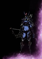 Blizzardverse stencils - sylvanas, the banshee queen, warcraft - plakat wymiar do wyboru: 21x29,7 cm
