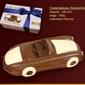 Czekoladki czekoladowy samochód