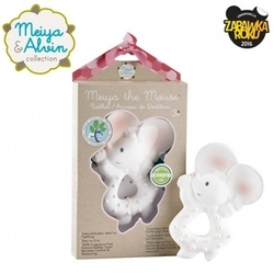 Meiya  alvin - meiya mouse organic rubber teether