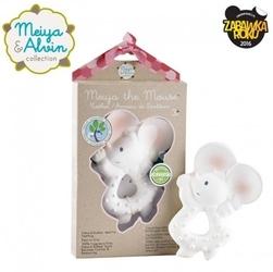 Meiya  alvin - meiya mouse organic rubber teether