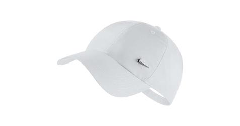Czapka nike heritage86 metal swoosh white 1size biały