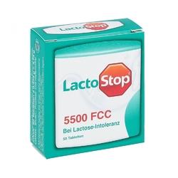 Lactostop 5.500 fcc tabletki
