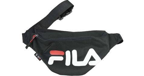Fila waist bag slim 002 black 1size czarny
