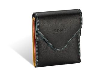 Mały portfel valentini colors - czarny
