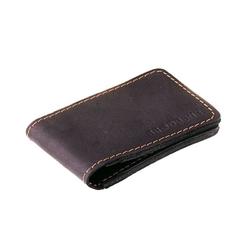 Skórzany cienki portfel brødrene sw02 czarny