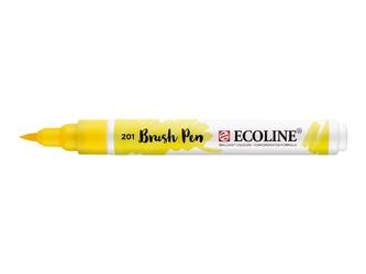 Talens ecoline brushpen light yellow