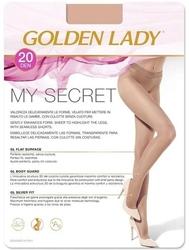 Golden lady my secret 20 den rajstopy