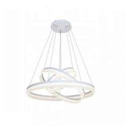 Żyrandol lampa okręgi obręcze led 20+40+60cm