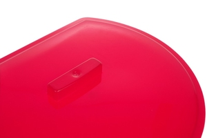 Bentom pokrywa wiadra przyściennego - czerwona