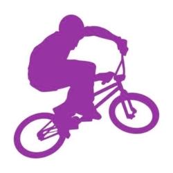 szablon malarski rower sp a38