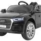 Audi q5 new czarny samochód na akumulator