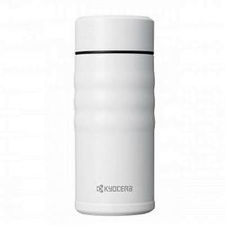 Kyocera - ceramiczny kubek termiczny twist 350ml biały - biały