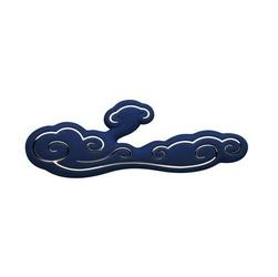 Elegancki wibrator alto niebieski   100 dyskrecji   bezpieczne zakupy