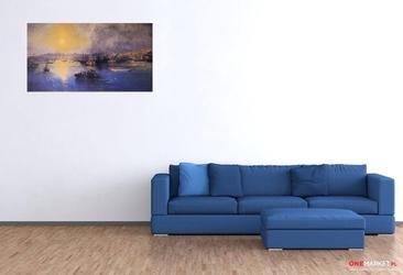 zachód słońca nad konstantynopolem - iwan ajwazowski ; obraz - reprodukcja