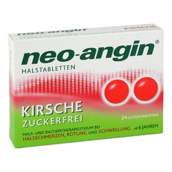 Neo-angin tabletki na gardłon kirsche