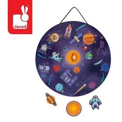 Magnetyczna układanka układ słoneczny, 7+, janod