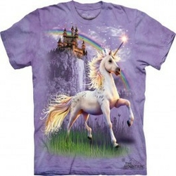 Koszulka mountain unicorn castle