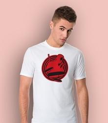 Deadpool target t-shirt męski biały l
