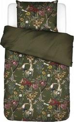 Pościel airen zielona 140 x 220 cm z poszewką na poduszkę 60 x 70 cm