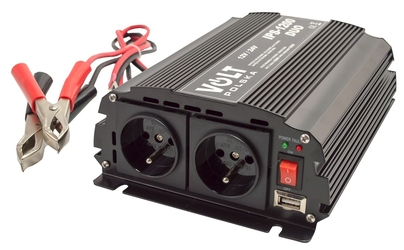 Przetwornica napięcia prądu ips-1200 duo 12v-24v230v1200w volt polska