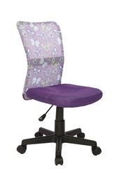 Fotel młodzieżowy Dingo fioletowy