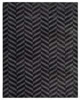 Dywan chelo charcoal 160x230 carpet decor handmade