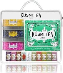 Herbaty kusmi w zestawie z zaparzaczką voyage travel set