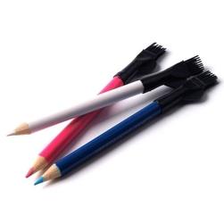 Kreda w ołówku ze szczoteczką - 3 szt.