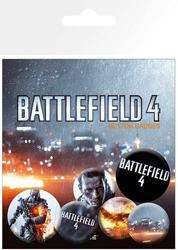 Battlefield 4 okładka - przypinki