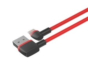 Unitek kabel usb2.0 - lightning 1.0m, mm, kątowy c4047rd