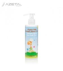 Azeta bio organiczny płyn do mycia ciała i szampon do włosów dla dzieci 200 ml